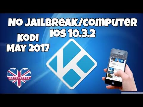 Install Kodi No Jailbreak or Computer on iOS 10.3.2 May 2017