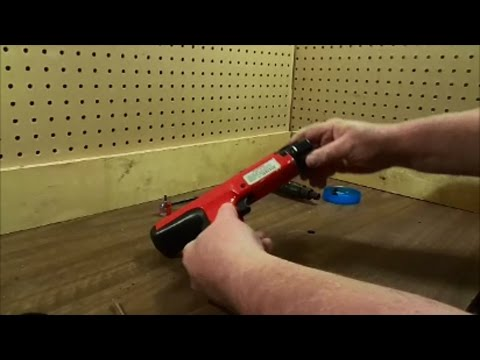 Disassembling A Hilti DX-350/Ramset Cobra .27 Caliber 10 Shot Semi Automatic Tool
