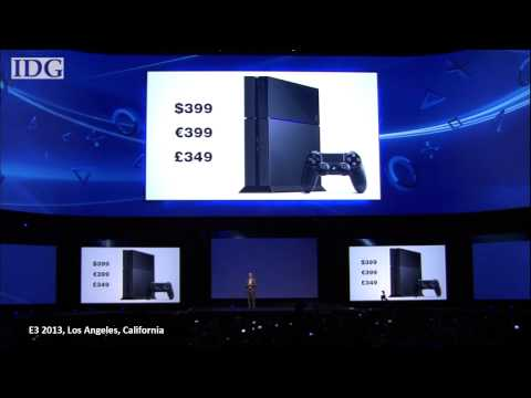 E3 2013: Sony's PlayStation 4 will cost $399, go on sale later this year