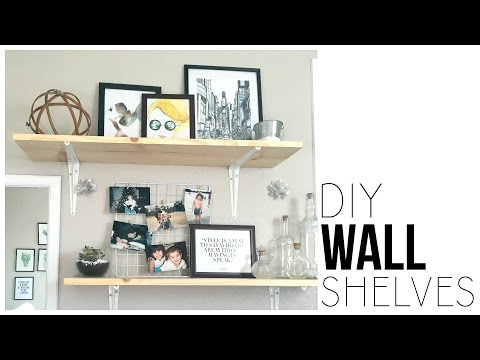 DIY Wall Shelves | Make Shelves For Under $13