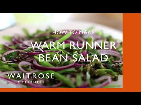 Warm Runner Bean Salad with Crispy Capers | Waitrose