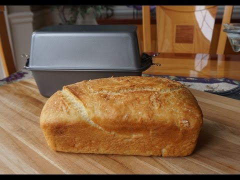 How to Bake No-Knead Bread in a Poor Man's Dutch Oven (no mixer… no bread machine…)