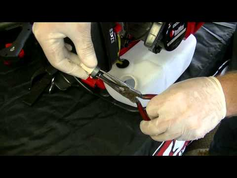 How to Replace a Backpack Blower Fuel Filter | Redmax