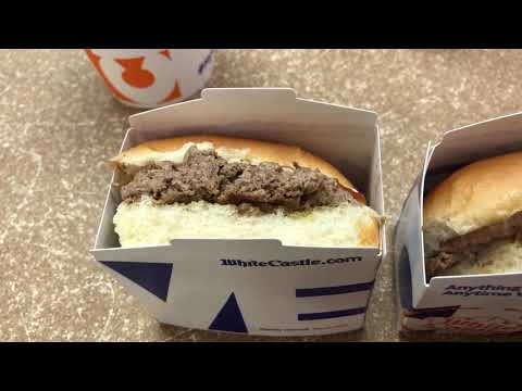 The Impossible White Castle Slider, vegan patty taste test
