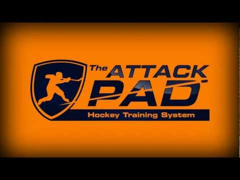 Attack Pad Hockey Stickhandling System