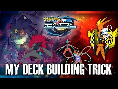 Pokemon duel, My little trick when it comes to building a new deck, In roles of Kahenkio: Mr obvious