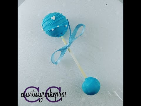 Baby Rattle Cakepops | Courtney's Cakepops
