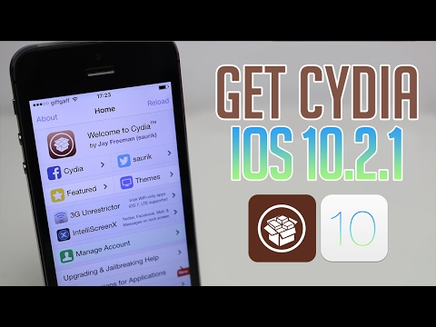 How to install cydia on ios 10.2.1 without a computer NEW 2017