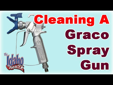How to clean & rebuild a Graco Contractor II gun.  Graco Sprayer Tips.