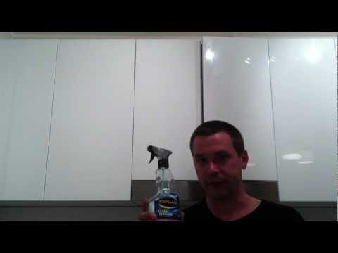How to polish polyurethane cupboards
