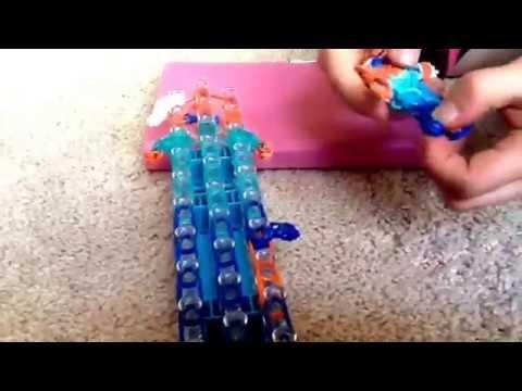 How to make Elsa on rainbow loom!!!!!