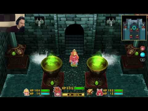 Secret of Mana (2018) playthrough pt27 - Rematch vs. Jabberwocky