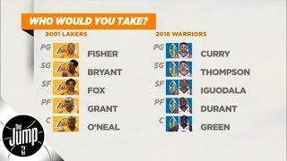 Would the Kobe and Shaq 2001 Lakers beat the 2018 Warriors? | The Jump | ESPN