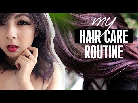 MY HAIR CARE ROUTINE 2017 | How I Maintain My Purple Hair!