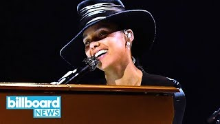 Alicia Keys Covers Juice WRLD, Coldplay, Lauryn Hill & More at 2019 Grammys | Billboard News