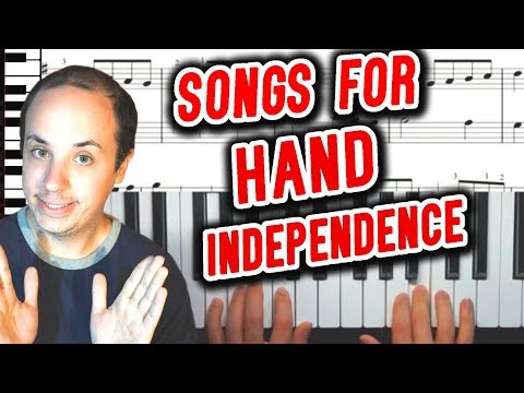 Simple Pieces to Improve Piano Hand Independence Between Left and Right Hands