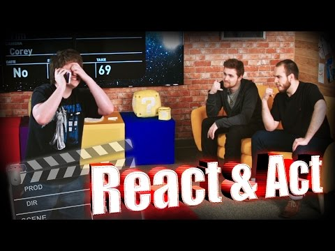 THE REACT AND ACT GAME (ROSS CALLS POISON CONTROL AND BARNEY'S CATDOG)  w/ Barney, Ross and Max