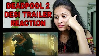 HINDI DEADPOOL 2 TRAILER REACTION VIDEO BY MANN JAIN FOX STAR INDIA despacito hacked deleted