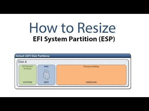 How to Resize EFI System Partition [Hackintosh]