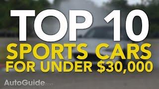 10 Best Sports Cars Under $30,000