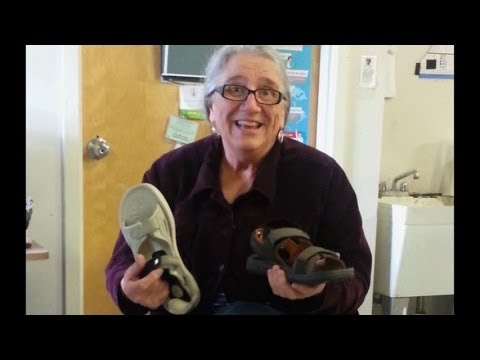 Shoes that work with Drop Foot  - drop foot sandal