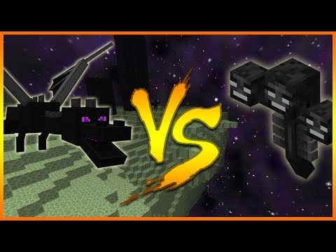 Minecraft: (Xbox360/PS3) HOW TO SPAWN THE WITHER BOSS IN THE END! WITHER Vs ENDER DRAGON!
