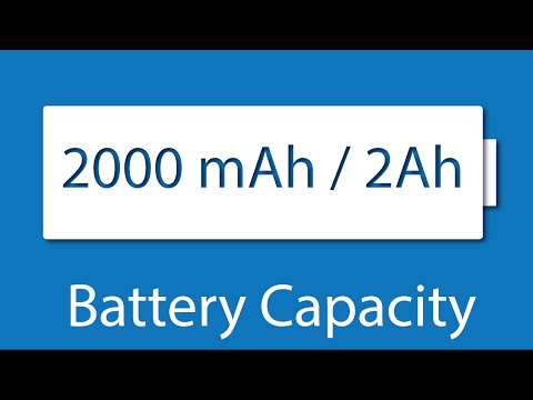 Battery Capacity (mAh) and Usage - Electronics Basics 18