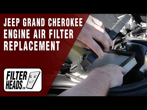 How to Replace Engine Air Filter 2011-2014 Jeep Grand Cherokee