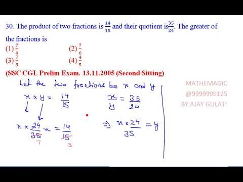 FRACTIONS 30