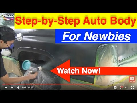DIY Auto Body and Paint Secrets Step-by-Step!