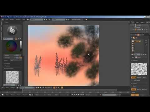 Painting in Blender's UV/Image Editor (Timelapse)