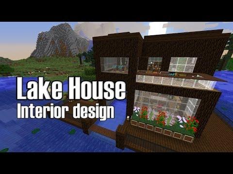 Minecraft Lake House Interior Design