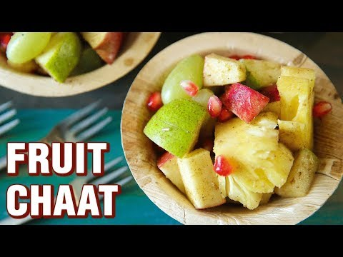 Fruit Chaat Recipe - How To Make Fruit Salad - Healthy Salad Recipe - Summer Special Recipe - Smita