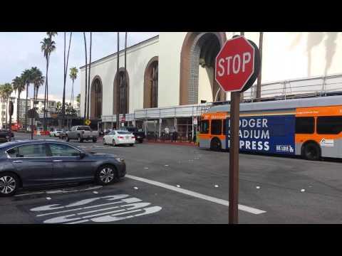 Metro Dodger Stadium Express at Union Station