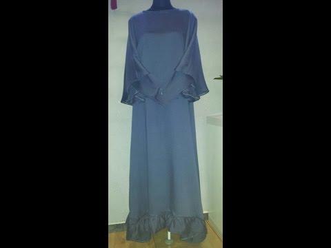 Abaya mit Umhang  DIY Tutorial