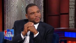 Anthony Anderson Explains Black vs. Black-ish