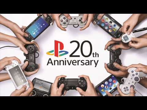 PS4 Music: 20th Anniversary Theme