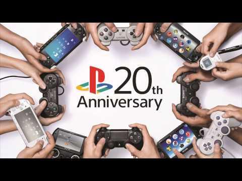 PS4 Music: 20th Anniversary Theme
