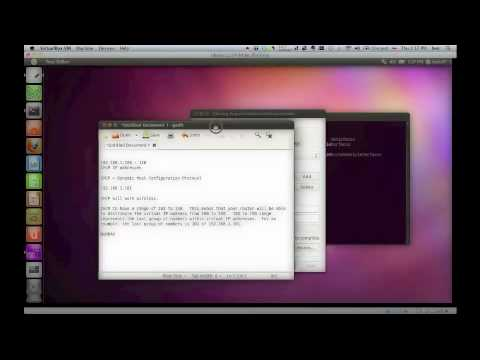 Linux Tutorial Series Part 08 - Networking and Static Virtual Private IP Addresses