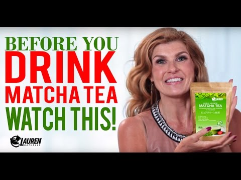Before You Drink Matcha Tea Watch This!