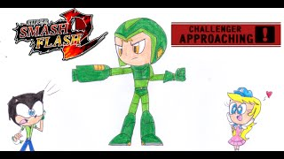 Ssf2 Mod: Gigaman Joins The Battle! (w.i.p)