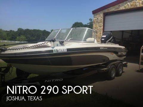 [SOLD] Used 2013 Nitro 290 Sport in Joshua, Texas