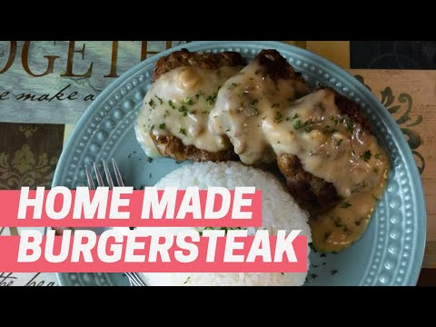 How To Make Burger Steak ALA Jollibee - by: Sassy