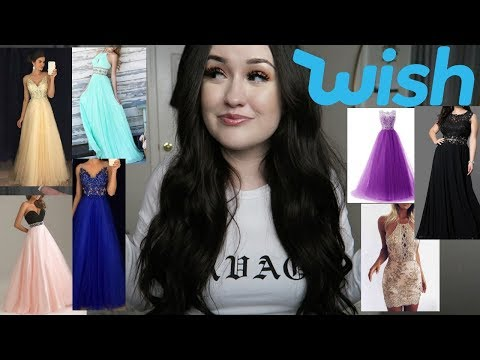 WISH PROM DRESSES UNDER $20 + GIVEAWAY!!!