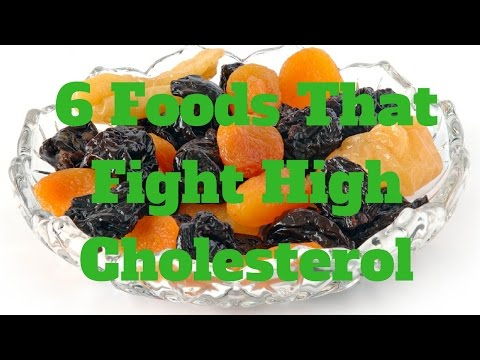 6 Foods That Fight High Cholesterol