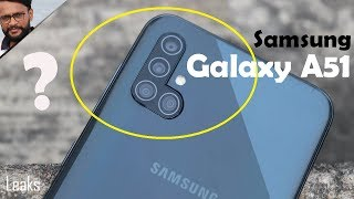 [LEAKS] Samsung Galaxy A51 with Quad Camera, Specification, Design