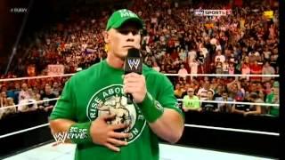 Brock Lesnar Returns to WWE and F-5 John Cena