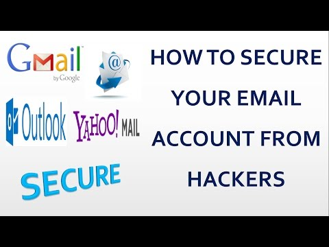 HOW TO SECURE EMAIL ( Gmail / Yahoo mail / Hotmail / Microsoft Outlook ) ACCOUNT FROM HACKERS ||