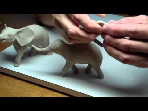 Learn Sculpting - Lesson 3, Part 2: Sculpt a Baby Elephant