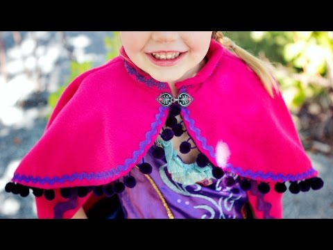 Princess Anna Cape DIY